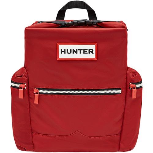 ハンター HUNTER オリジナル トップクリップ バックパック - ナイロン ミリタリーレッド UBB6017ACD