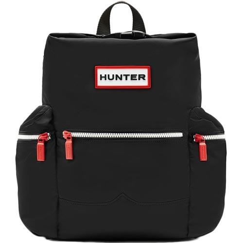 ハンター HUNTER オリジナル トップクリップ ミニバックパック - ナイロン ブラック UBB6018ACD