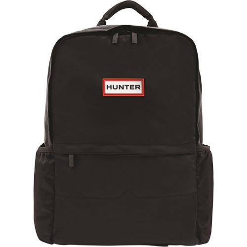ハンター HUNTER オリジナル ナイロン バックパック BLACK UBB6028KBM