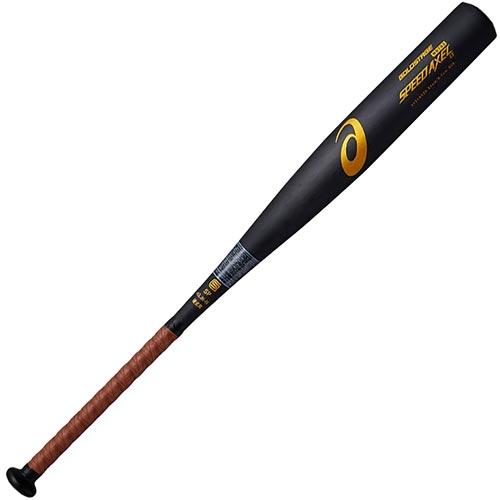 アシックス asics 野球 硬式金属バット スピードアクセルLS SPEED AXEL LS ブラック 3121A020