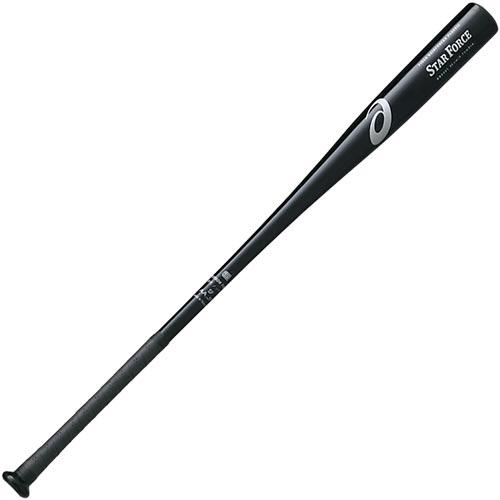 アシックス asics 野球 硬式FRPノックバット スターフォース STARFORCE R ブラック 90cm BB9201 90