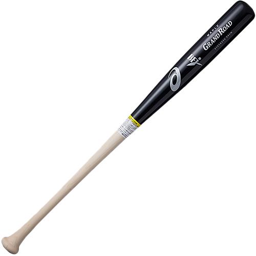 アシックス asics 硬式野球 木製バット GRAND ROAD グランドロード ブラック×ナチュラル 3121A254 002