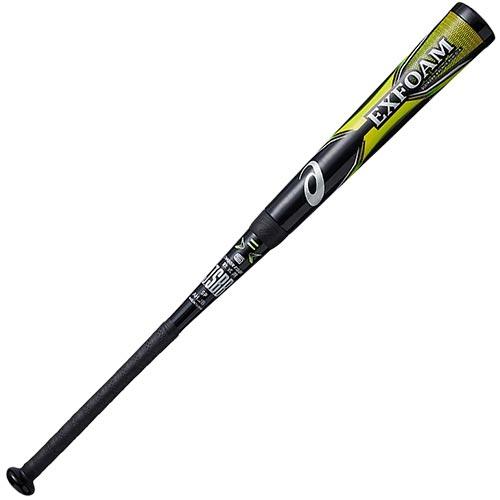 アシックス asics 野球 軟式Cバット エクスフォーム EXFOAM ブラック/グリーン 3121A265 001