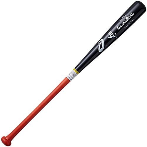アシックス asics 硬式野球 木製バット GRAND ROAD グランドロード ブラック×レッド 3121A267 002
