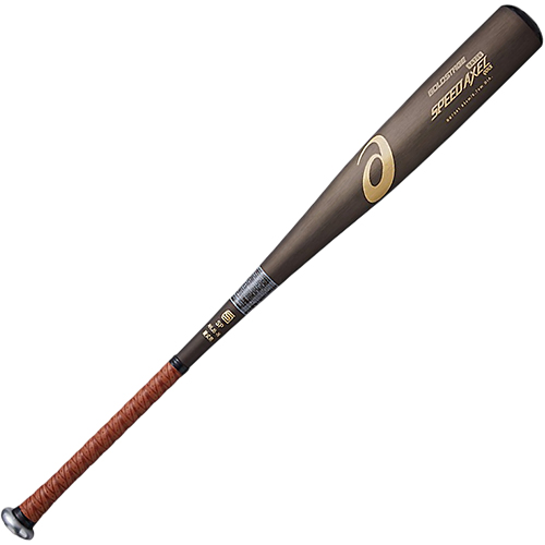 アシックス asics 硬式野球 金属バット SPEED AXEL QUICK スピードアクセルQUICK ブラウンブラック BB7041 201