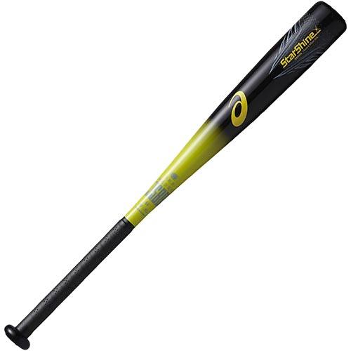 アシックス asics 野球 ジュニア 軟式Fバット スターシャイン 75cm ブラック/イエロー BB8504 9004 キッズ