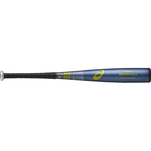 アシックス asics 野球 バット ジュニア 軟式用 スターシャイン ネイビー S70 BB8108 50