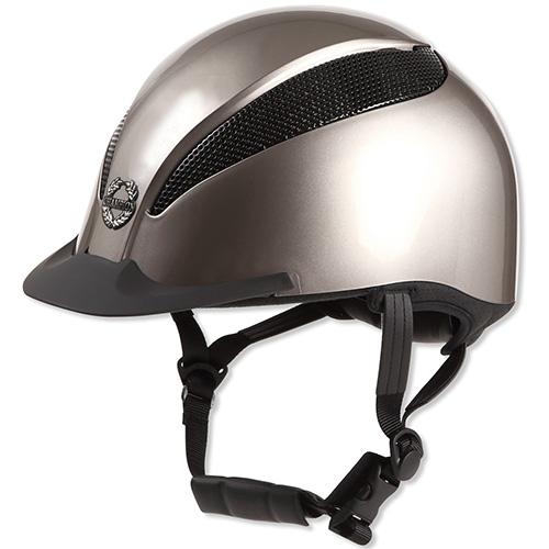 チャンピオン CHAMPION メンズ レディース エアテック ダイヤル調整 ヘルメット グレージュメタリック TO-HE-17AW03-BG