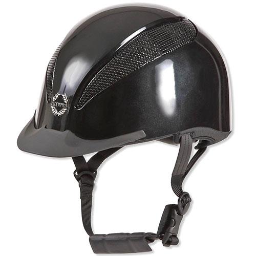チャンピオン CHAMPION メンズ レディース エアテック ダイヤル調整 ヘルメット ブラックメタリック TO-HE-17AW03-BK