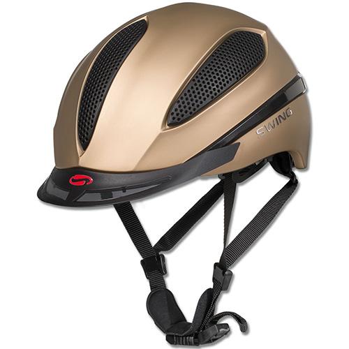 ヴァルドハウゼン WALDHAUSEN メンズ レディース SWING H16モデル 超軽量 ダイヤル調整 ヘルメット ゴールドマット W-HE-51941-GD