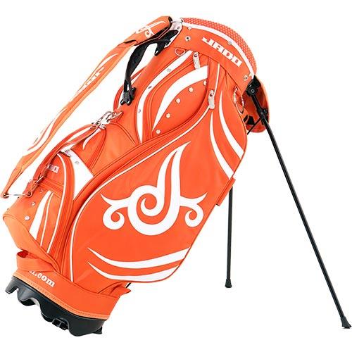 ジャド JADO ゴルフ スタンド キャディーバッグ オレンジホワイト JGSTCB8222 ORWH