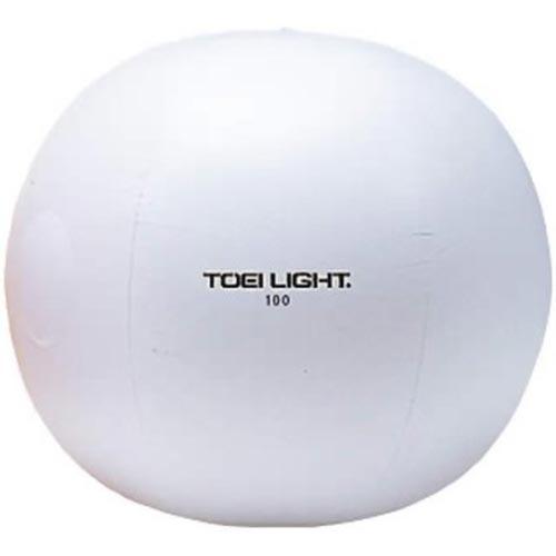 【特殊送料】トーエイライト TOEI LIGHT カラー大玉普及タイプ100cm 白 B-3275W