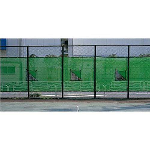 【受注生産品】エバニュー EVERNEW 防風ネット 窓付 EKE065