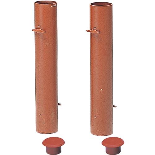 【受注生産品】エバニュー EVERNEW 支柱用埋筒スチール EKE806