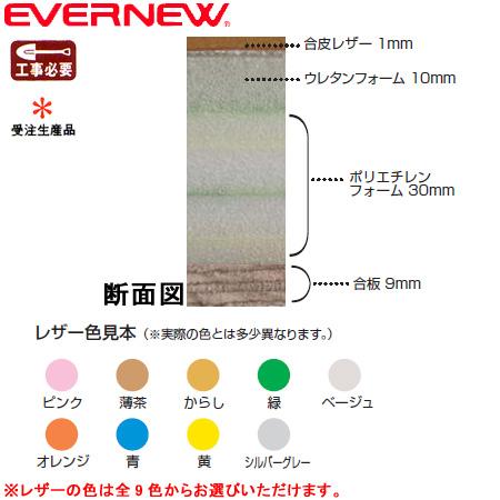 【受注生産品】【特殊送料】エバニュー EVERNEW 壁緩衝マット EKR020