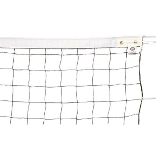 エバニュー EVERNEW バレーボールネット6人制検定V128上下白帯 EKU101