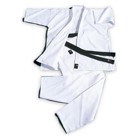 格闘技用品 送料無料でお届けします 道衣 ボディメーカー BODYMAKER 1号 上下セット 国内在庫 純白フルコンタクト空手衣 KW1
