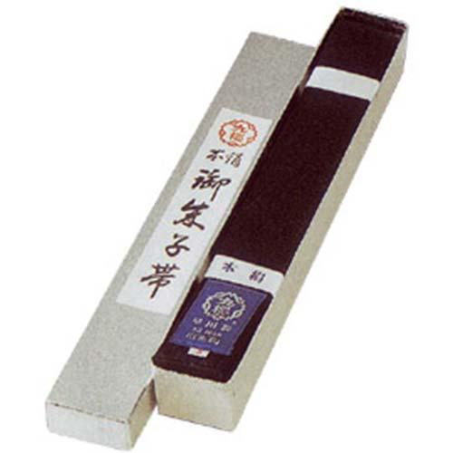 九櫻 クサクラ JGS本絹黒朱子帯 化粧箱入 4号 JGS4B
