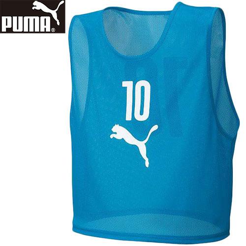 プーマ PUMA サッカー フットサル ゲームシャツ 10枚組 ビブスセット 03/アトミックブルー 920604