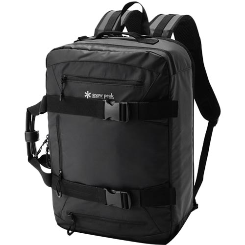 スノーピーク snowpeak 3wayビジネスバッグ 3way Business Bag Black/ブラック UG-729