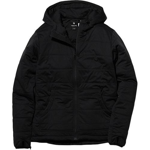 スノーピーク snowpeak メンズ フレキシブルインサレーションフード Flexible Insulated Hoodie Black/ブラック SW-18AU007