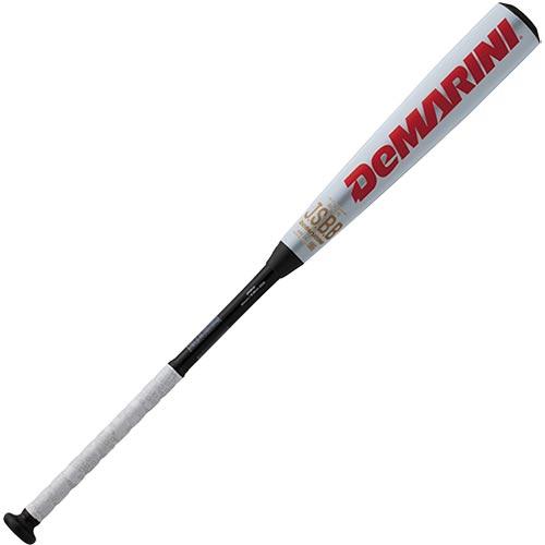 ディマリニ DeMARINI 野球 金属バット ケーポイント 一般軟式用 ミドルバランス ホワイト/ブラック 8474 WTDXJRSKM