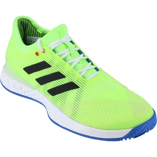 アディダス adidas メンズ テニスシューズ アディゼロ ウーバーソニック Adizero Ubersonic 2 シグナルグリーン/コアブラック/グローリーブルー FBD52 EF2768