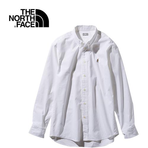 ノースフェイス THE NORTH FACE メンズ ロングスリーブヒムリッジシャツ L/S Him Ridge Shirt ホワイト NR11955 W