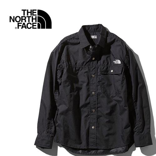 春夏モデル 長袖 トップス ボタンシャツ アウトドアウェア セール 10%OFF ノースフェイス THE NORTH 通信販売 FACE S レディース L 国内即発送 ロングスリーブヌプシシャツ NR11961 Shirt Nuptse ブラック メンズ K