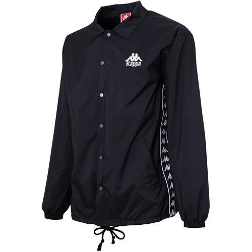 カッパ Kappa メンズ ウィンドジャケット BANDA ブラック KLA12WT01 BK
