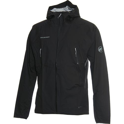 マムート MAMMUT メンズ マサオ ライト フーディージャケット Masao Light HS Hooded Jacket AF Men ブラック 1010-27100 0001