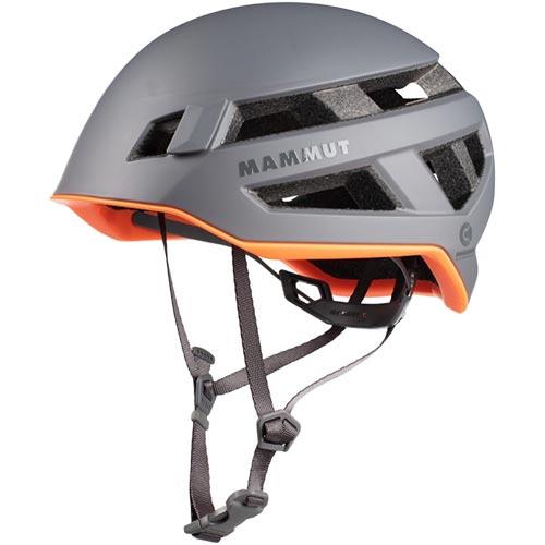 マムート MAMMUT クライミングヘルメット Crag Sender Helmet チタニウム 2030-00260-0051