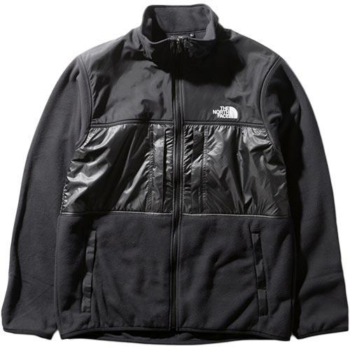 ノースフェイス THE NORTH FACE メンズ ブライトサイドフリースジャケット Bright Side Fleece Jacket ブラック×アスファルトグレー NL22031 K