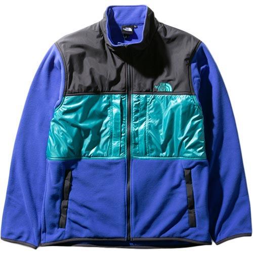 ノースフェイス THE NORTH FACE メンズ ブライトサイドフリースジャケット Bright Side Fleece Jacket TNFブルー×ジェイデングリーン NL22031 TB