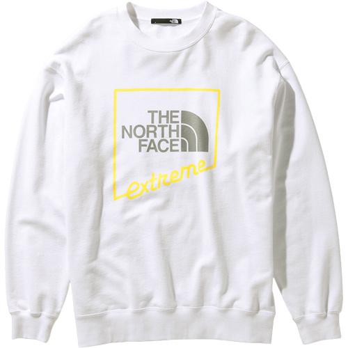 ノースフェイス THE NORTH FACE メンズ レディース エクストリームクルー Extreme Crew ホワイト NT12032 W