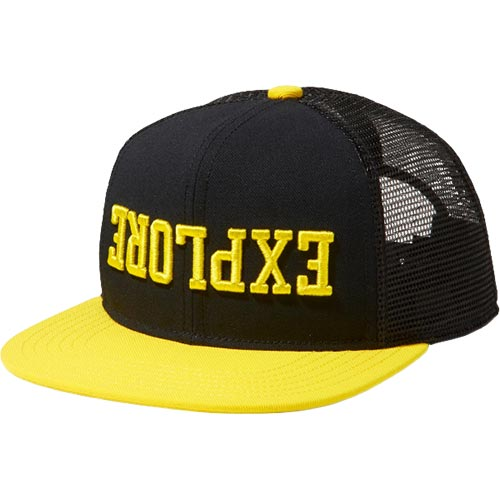 お得 新着セール 帽子 キャップ カジュアル アウトドア 日よけ ノースフェイス THE NORTH 爆買い送料無料 FACE メンズ メッセージメッシュキャップ TNFレモン MESH NN01921 F MESSAGE TL CAP レディース