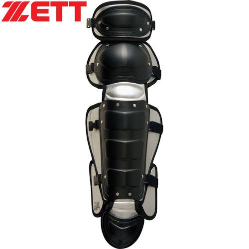 ゼット ZETT 軟式用レガーツ BLL3233 ブラック/シルバー