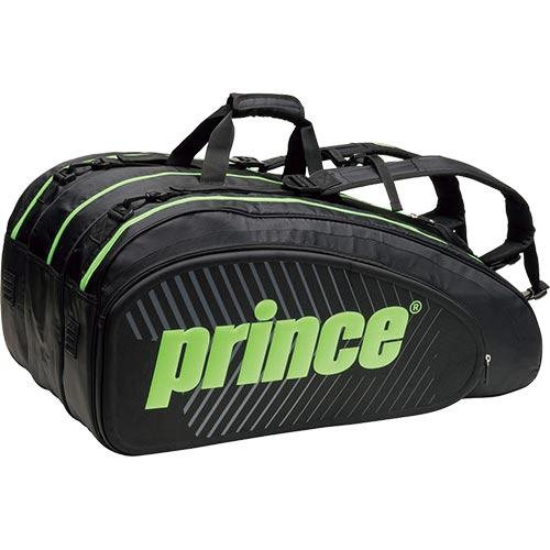 プリンス Prince ラケットバッグ15本入 TT700 BLK/GRN