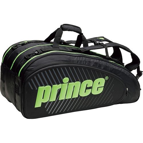 プリンス Prince ラケットバッグ9本入 TT701 BLK/GRN