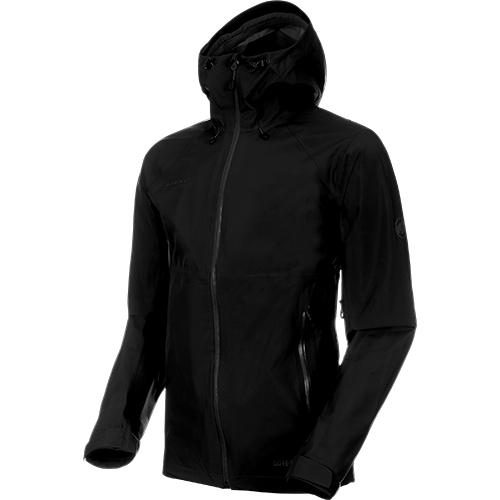 マムート MAMMUT メンズ ジャケット Convey Tour HS Hooded Jacket Men ブラック 1010-26032-0001