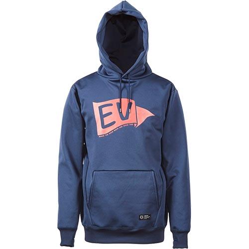 エスティボ ESTIVO メンズ スノーボード ウェア パーカー FLAG WR PARK ネイビー N EVM1754