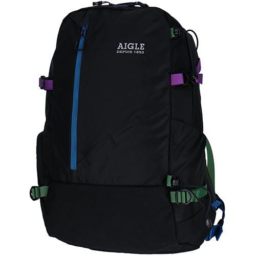 エーグル AIGLE ナイロン バックパック BACKPACK20 / TH メンズ レディース NOIR/ノアール ZNH030J