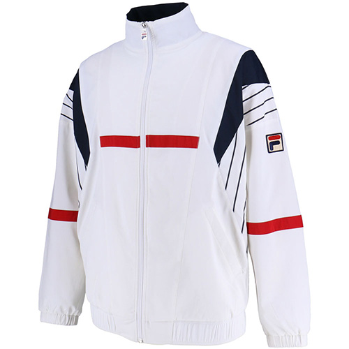 フィラ FILA ウィンドアップジャケット ホワイト VM5355 01 メンズ
