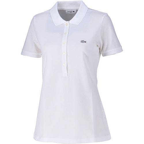 ラコステ ポロシャツ レディース LACOSTE 半袖 001 ホワイト PF7845L