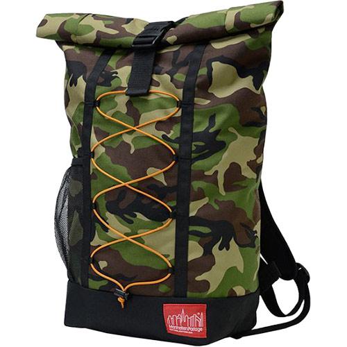 マンハッタンポーテージ Manhattan Portage リュックサック ヒルサイドバックパック Hillside Backpack バンジーシリーズ ブラック/ウッドランドカモ MP1253BUNGEE