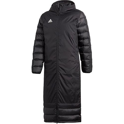 アディダス adidas メンズ サッカーウェア CONDIVO18 ウィンターコート ブラック/ホワイト DJV52 BQ6590