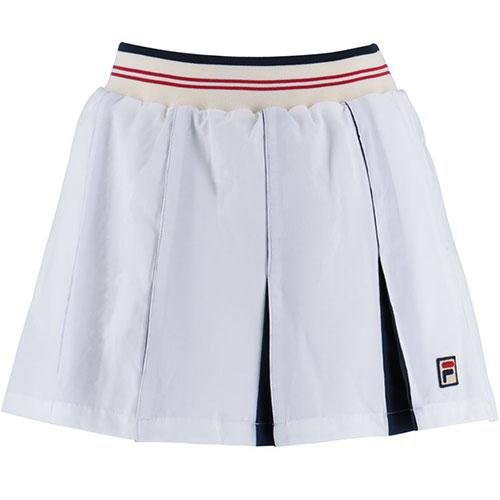 フィラ FILA レディース テニス スコート ホワイト VL1839 01