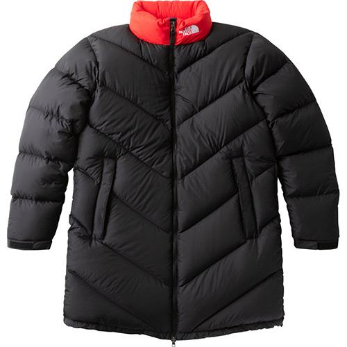 ノースフェイス THE NORTH FACE メンズ アウター アッセントコート Ascent Coat ブラック×ファイアリーレッド ND91831 KF