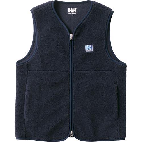 ヘリーハンセン HELLY HANSEN メンズ ファイバーパイル ベスト FIBERPILE Vest ネイビー HE51864 N