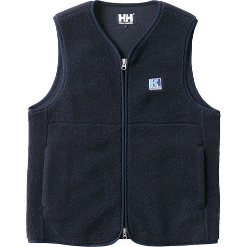 ヘリーハンセン HELLY HANSEN レディース ファイバーパイル ベスト FIBERPILE Vest ネイビー HE51864 N
